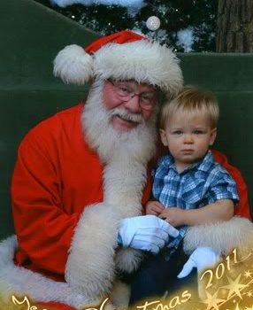 Wordless {ful} Wednesday: Hello Santa
