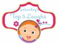 Saturday's Top 5 Laughs