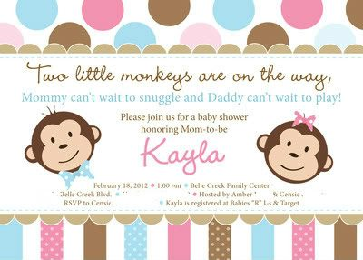 How to host a Monkey Baby Shower!