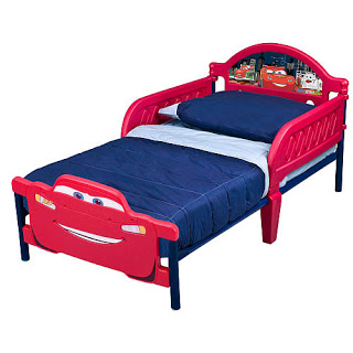 Wordless{ful} Wednesday:  Big Boy Bed!