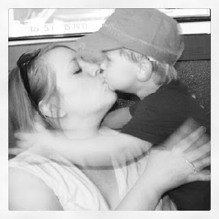 Wordless Wednesday:  Kisses for Mommy