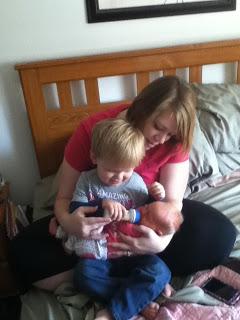 Wordless Wednesday: Baby Milk for Teagan
