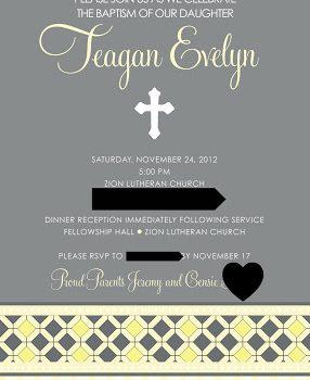 Teagan's Baptism Day