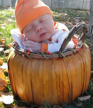 Wordless Wednesday: Kids in Pumpkins
