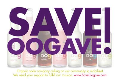 Help Save Oogave Soda!