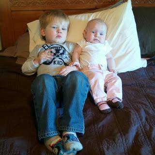Siblings and Cuddles