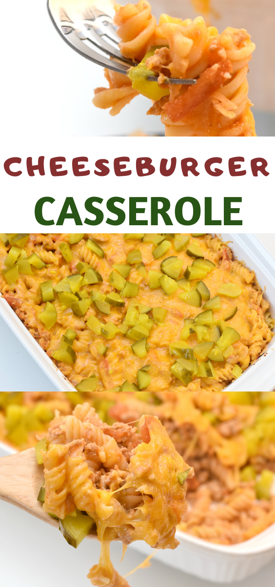 This Weight Watchers Friendly Cheeseburger Casserole recipe is a yummy cheeseburger in a casserole dish! Easy Cheeseburger Casserole Recipe. Cheeseburger Casserole