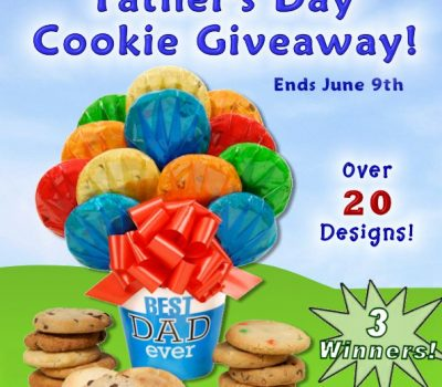 Father's Day Cookie Giveaway – 3 Lucky Winners!