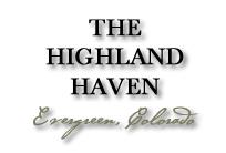 The Highland Haven – Evergreen Colorado