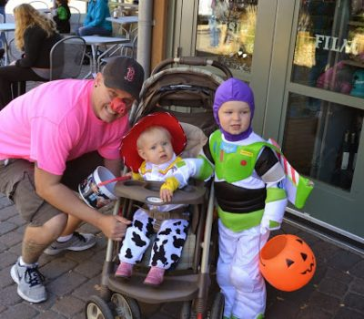 Halloween Meets Toy Story