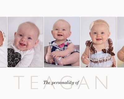 Teagan's 1 Year Pictures