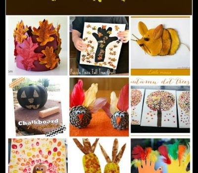 Harvest Crafts for Preschoolers