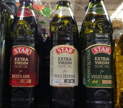 STAR Olive Oil Brings Asparagus Life