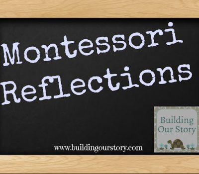 Montessori Reflections for October #Montessori #Preschool