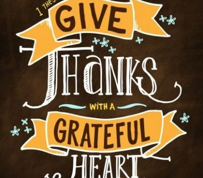 Thanksgiving – A Day of Thanks