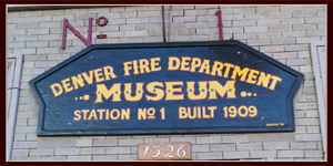 The Denver Firefighters Museum