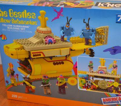 K'NEX Yellow Submarine Building Set