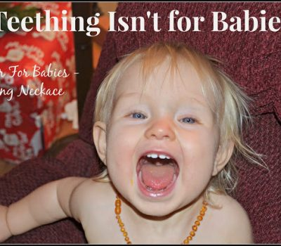 Amber Teething Necklace – Review and Giveaway