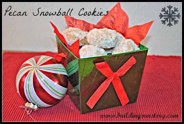 Pecan Snowball Cookie Recipe:
