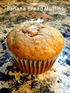 Banana Bread Muffin Recipe Weight Watchers