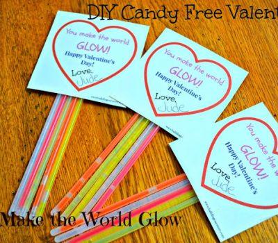 Candy Free Valentine – You Make The World Glow