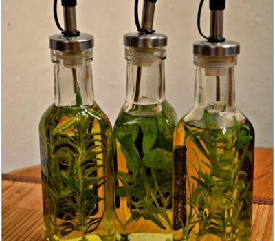 DIY Herb Infused Olive Oils