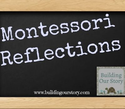 Montessori Reflections for January #Montessori #Preschool