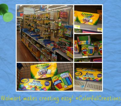 Creating a Colorful Garden Gift Basket Using Crayola Crayons and Sidewalk Chalk #ColorfulCreations #shop