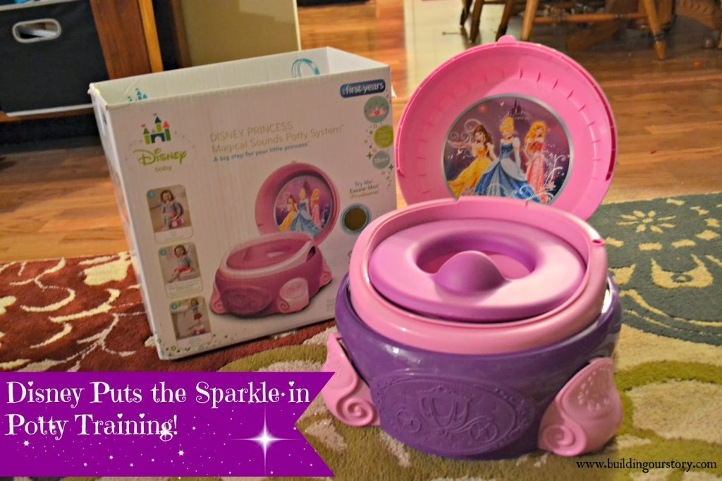 Disney Princess Magical Sparkle Potty System by The First Years