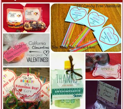 Easy Last Minute Non- Candy Valentine Ideas for Kids