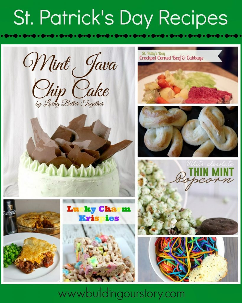 St. Patrick's Day #Recipes Desserts and Dinners