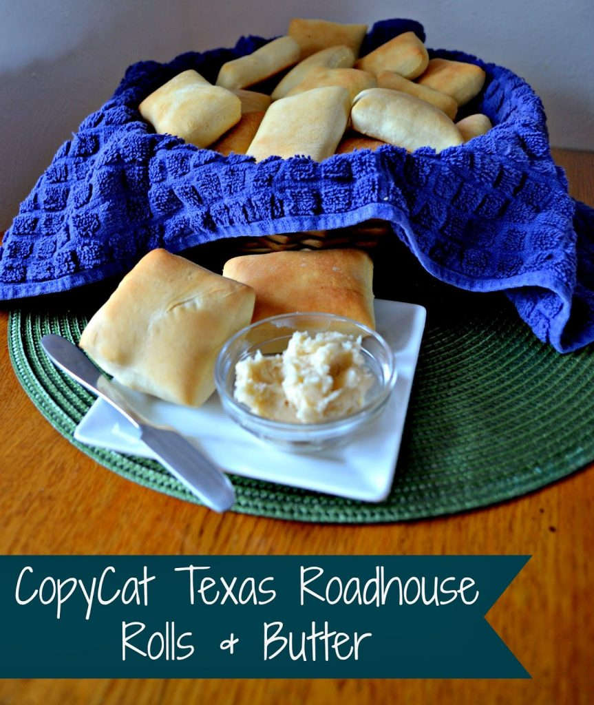 Copycat Texas Roadhouse Rolls and Butter #Recipe