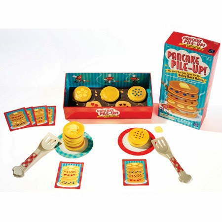 Pancake Pile-Up!™ Relay Game {Review + Giveaway}