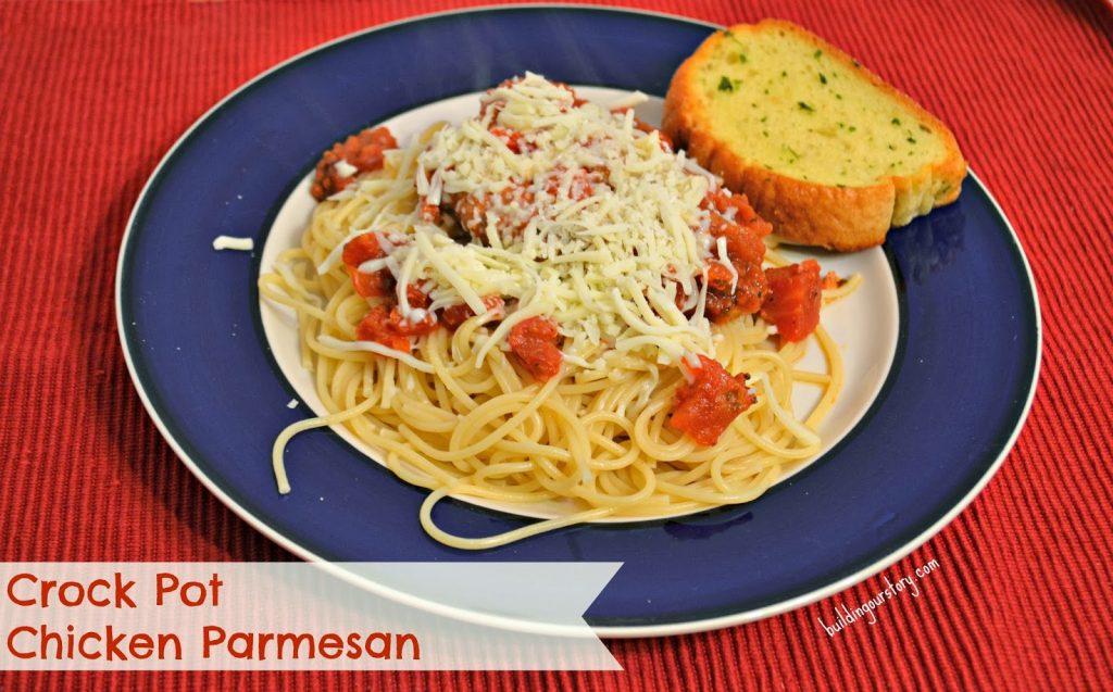 Crock Pot Chicken Parmesan #Recipe