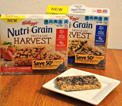 Breakfast is Served with Nutri-Grain® Fruit & Oat Harvest Cereal Bars #NGHarvest