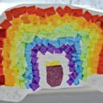 Rainbow Stained Glass Craft