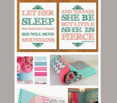 Decorating Teagan's New Room with Easy Canvas Prints #giveaway