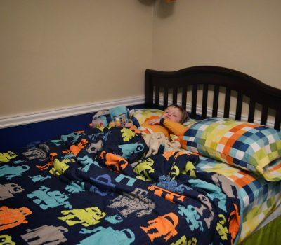 Jude's Big Boy Bed!