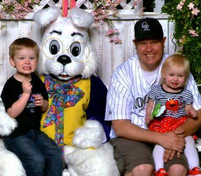 Easter Bunny Visit 2014