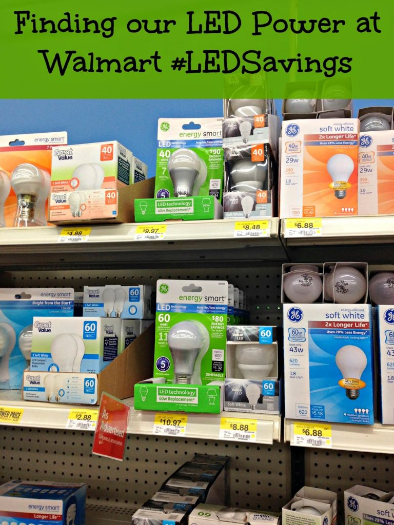Being Smart by Switching to GE LED Energy Smart Light Bulbs #LEDSavings #shop
