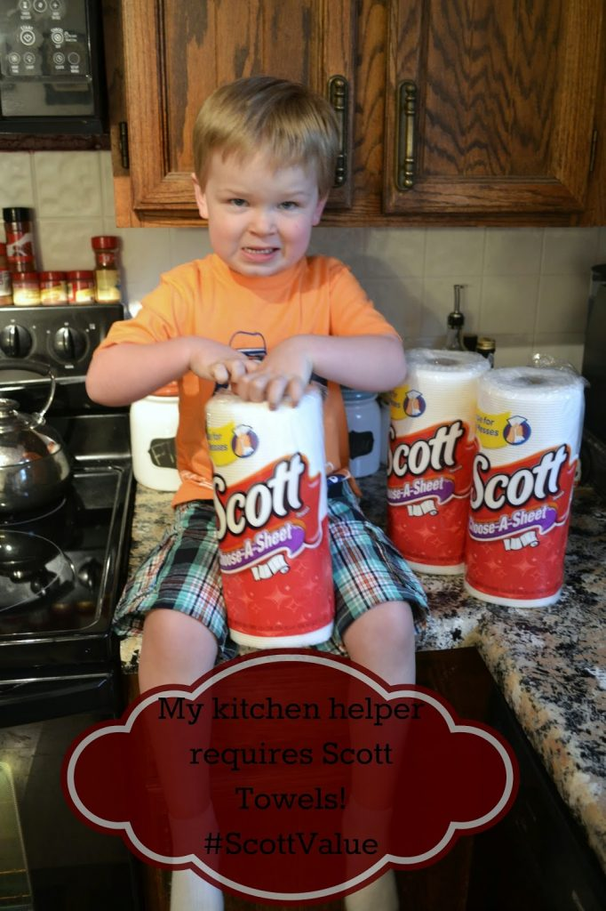 Surviving my kitchen helper with SCOTT® Towels #ScottValue #ad #PMedia