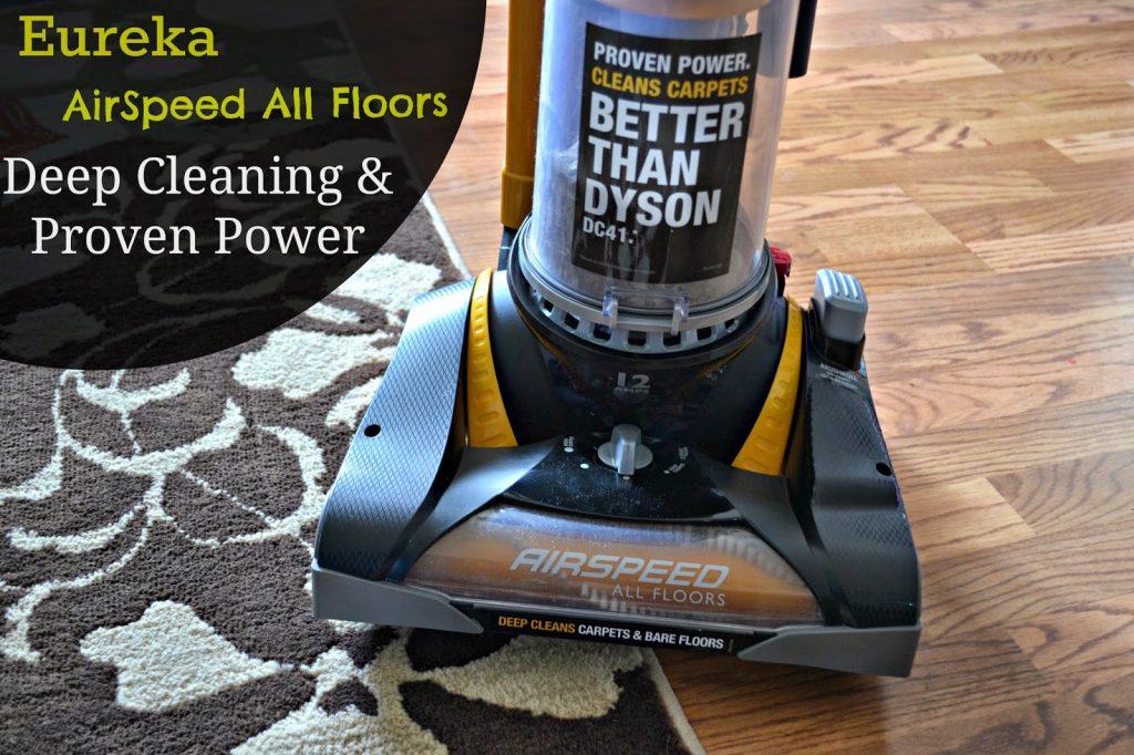 Upgrading to Eureka AirSpeed All Floors vacuum #EurekaPower