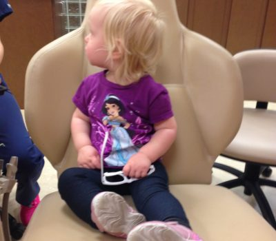 Teagan's 1st Dentist Appointment