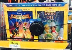 The Pirate Fairy Blu-Ray/DVD/Digital HD with Walmart exclusive Pixie Hollow Bake Off DVD