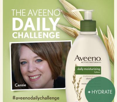 My #AveenoDailyChallenge Update:  HYDRATE  #MC #Sponsored