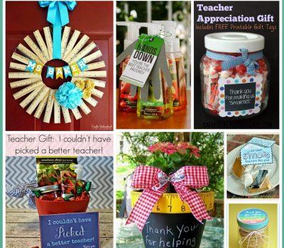 End of the Year Teacher Gift #DIY Ideas