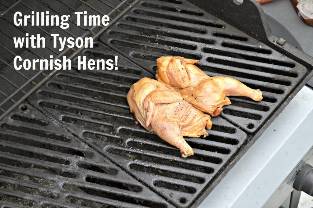 #ad Grilled Cornish Hens with Teriyaki Mango Salsa #Recipe.  Chicken Seasoning, chicken marinade, spatchcocking, spatchcocking chicken
