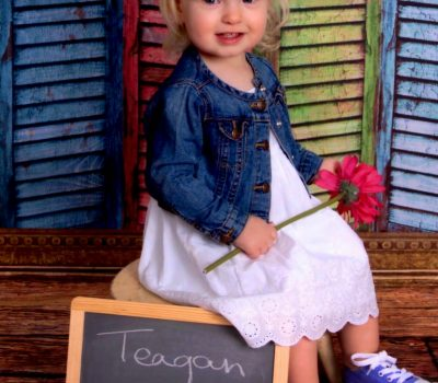 Teagan's 18 Month Professional Pictures!