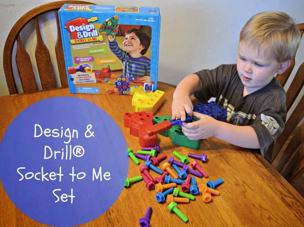 Design & Drill® Socket to Me set
