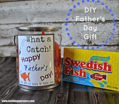 #DIY Father's Day Gift Idea and Free Printable